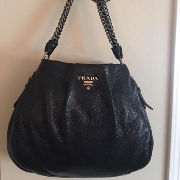 40c00af96870 Prada Bags | Rare Cervo Lux Nero Chain Special Edition | Poshmark